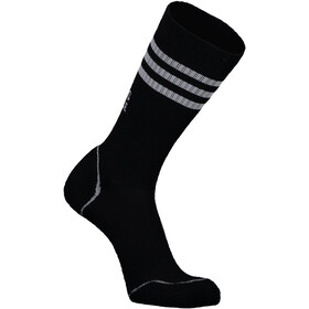 Mons Royale Signature Crew Socks Dam black/grey